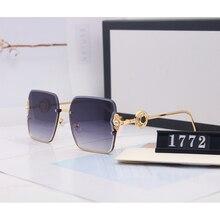 New Fashion Oversized square Women Sunglasses 2020 Brand Des
