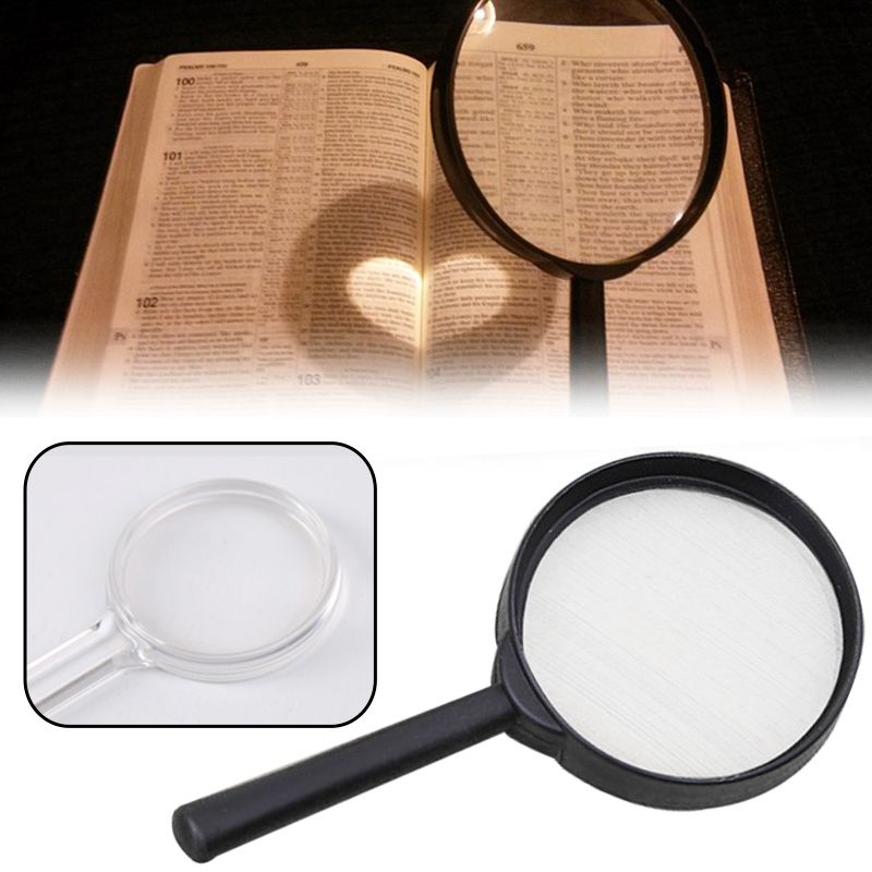 Handheld Magnifier 3X Magnifier Loupe Pocket Magnifying Glass Reading Monocle Jewelry Loupe Gift Glasses Lupe Magnifiers  - AliExpress