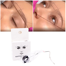 Eyebrow-Marker Mapping-String Tattoo-Thread Brows-Point Pre-Inked 10m New