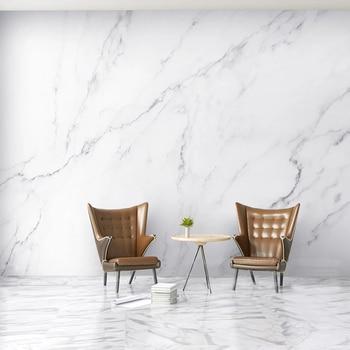 Custom Mural Nordic Ins White Marble Wall Painting 3D Bedroom Living Room TV Background Wall Waterproof Murals Wallpaper Modern цена 2017