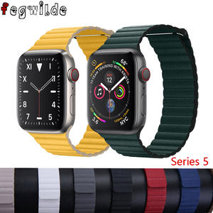 Loop-Band Watch-Strap Closure-Bracelet Magnetic 38mm 44mm for Apple Correa 4/5-3/2-1