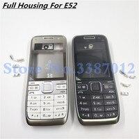 Original Nova Completa Caso de Habitação Para Nokia E52 Com Teclado Inglês