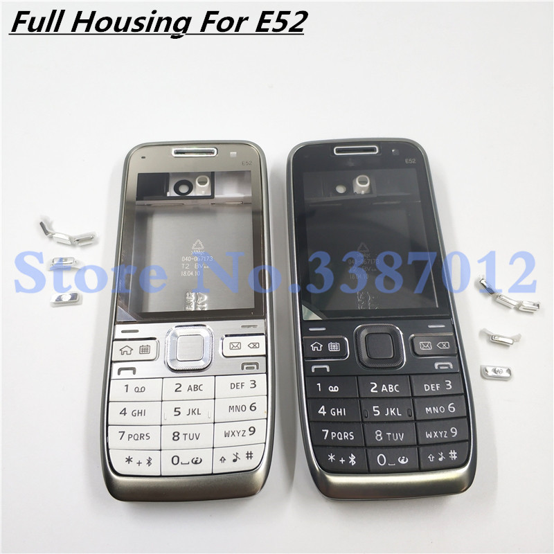 Original New Full Housing Case For Nokia E52 With English Keyboard
