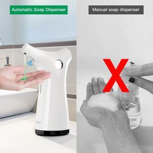 Image 5 - 200ml Infrared Sensor Soap Dispenser Hand Sanitizer Shampoo Lotion Dispensers Touchless For Kitchen