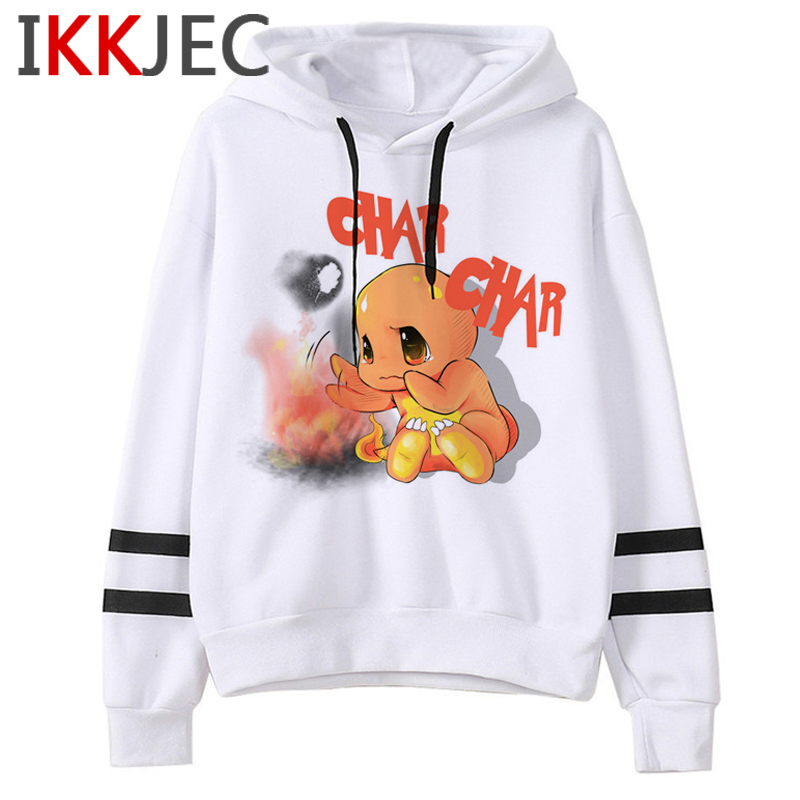 Pokemon Go Funny Cartoon Warm Hoodies Men/women Cute Pikachu Japanese Anime Sweatshirts Fashion 90s Steetwear Hoody Male/female 31