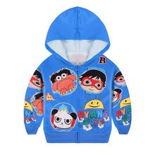 Baby Boys Clothes tops Ryan ToysReview T-shirt Sweatshirt for Kids Boy Hoodies Top Shirt High Quality Pullovers 39046