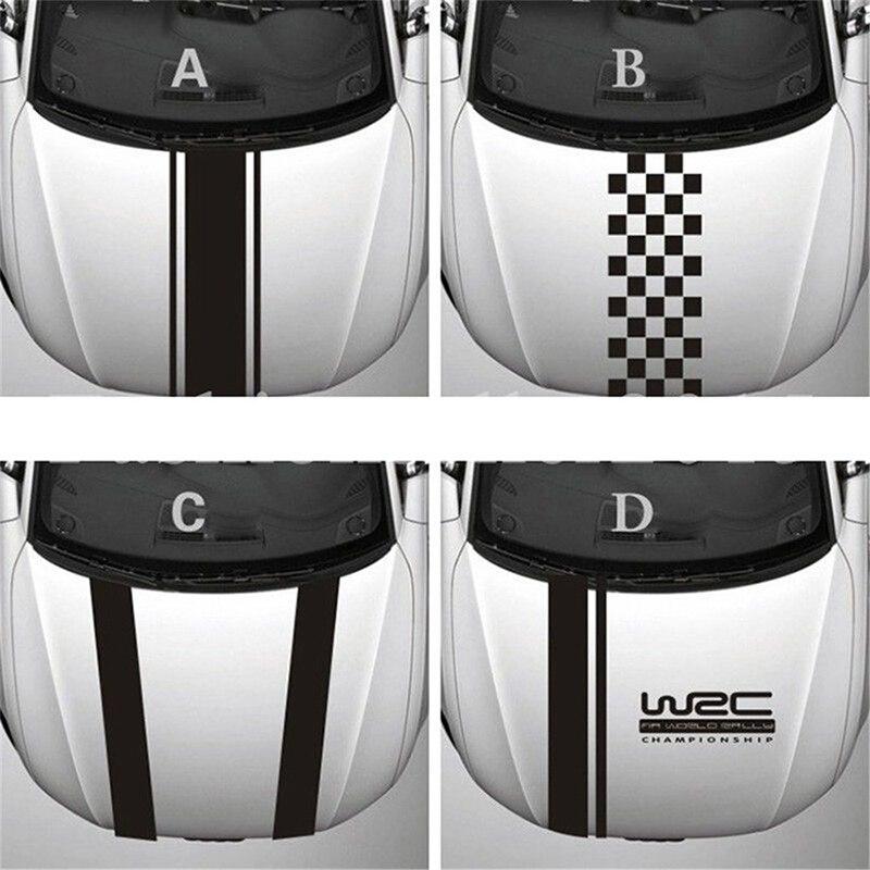 Vinyl Racing Sports Decal Car Head Stickers For Chevrolet Cruze Ford Mondeo Mk4 Focus 2 3 Mk2 Mk3 Fiesta Mk7 Fusion Ka 2019 2018