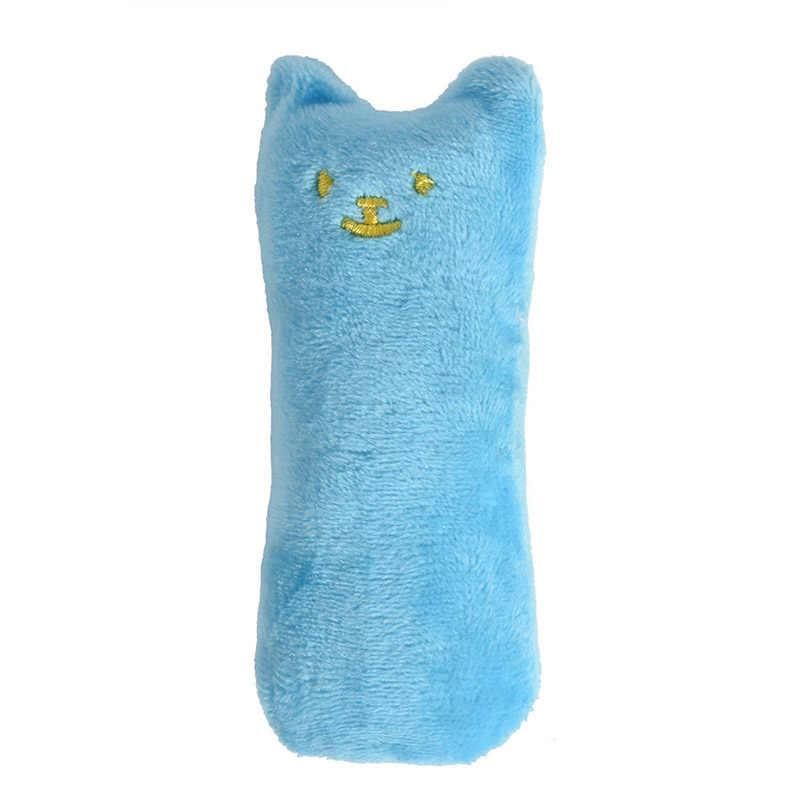 Catnip 장난감을 연삭 패션 미니 치아 재미있는 대화 형 봉제 고양이 장난감 애완 동물 고양이 씹는 보컬 발톱 고양이를위한 엄지 손가락 물린 고양이