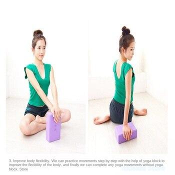 100pcs  Yoga brick high-density eva yoga brick environmentally friendly material non-slip yoga foam brick camouflage yoga brick