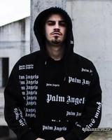 19FW Palm Angels Hoodies Men Winter Clothes Women Streetwear Casual Fashion Sweatshirt Men Heron Preston Palm Angels Hoodie