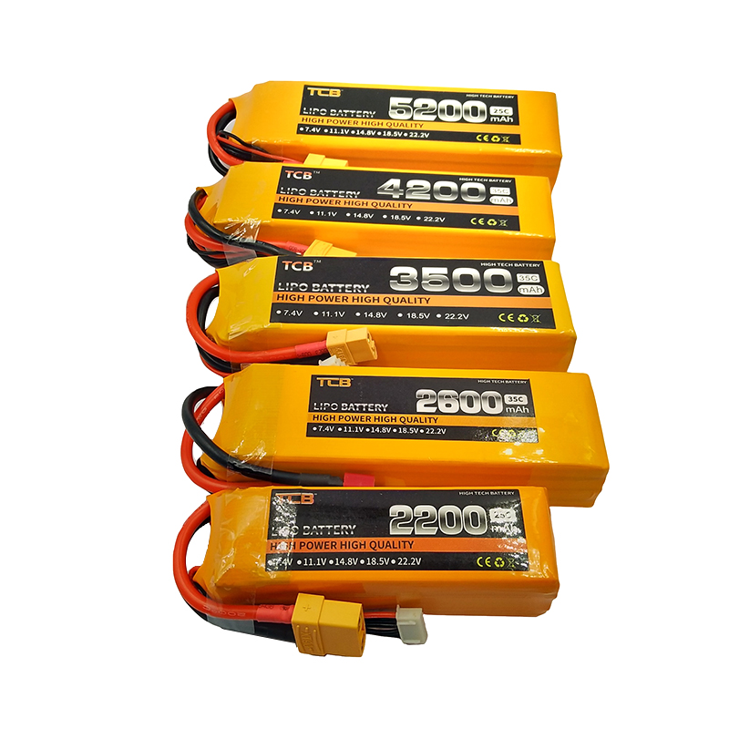 TCB RC <font><b>LiPo</b></font> Battery <font><b>3s</b></font> 11.1V <font><b>2200mah</b></font> 2600mah 3500mah 4200mah 5200mah 10000mah 25C 35C For RC Airplane Car Boat <font><b>3S</b></font> Batteries image