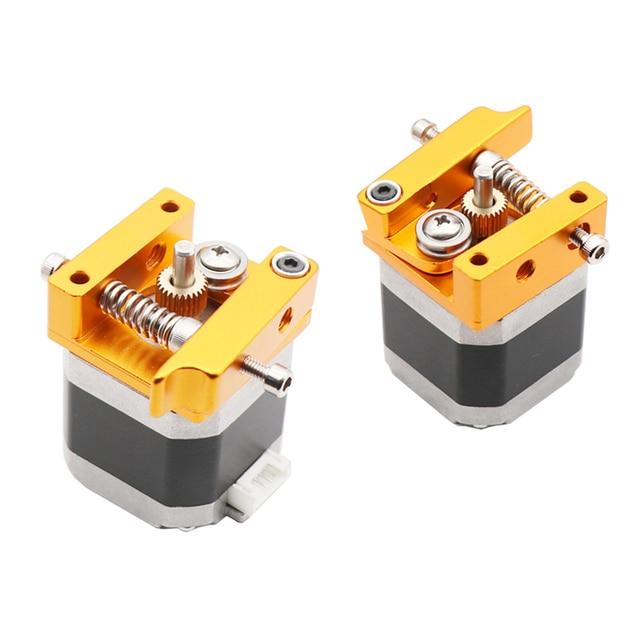 Фото mk8 dual head extruder 12v/24v 40w 3d printer parts double hotend