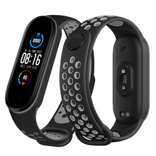 Pasek do Xiaomi Mi Band 5 silikonowy pasek na nadgarstek do wymiany MiBand 3 4 bransoletka sportowa opaska na nadgarstek akcesoria tanie tanio Curren CN (pochodzenie) for xiaomi miband 5 strap for xiaomi 3 4 For Xiaomi Mi Band 5 For M5 M4 M3 Smart Watch Silicone