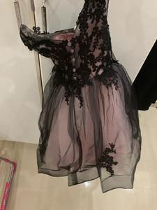 Image 5 - V צוואר שחור כדור כותנות באורך רצפת תחרה רקמת בנות תחרות שמלות ראשית הקודש שמלות לילדים מסיבת יום הולדת לנשף