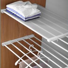 Armário ajustável rack de armazenamento sem unhas fixado na parede espaço-economia armário prateleira coset decoração prateleira suporte do armário