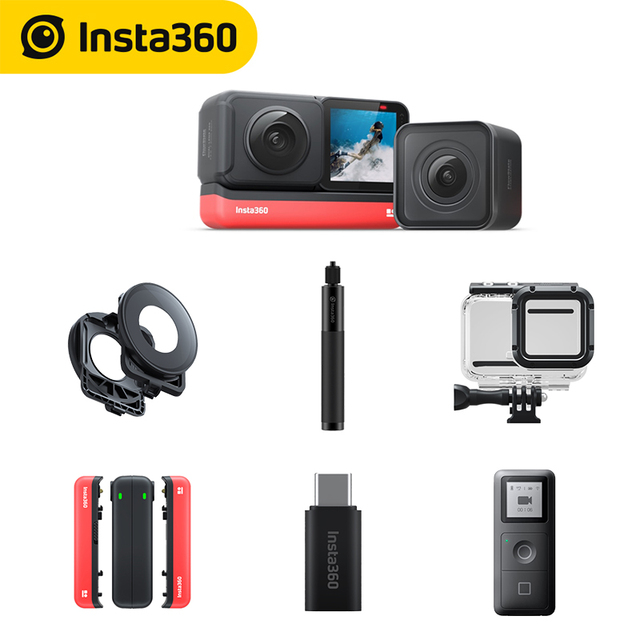 Insta360 ONE R Sports Action Camera 5.7K 360 4K wide angle waterproof video camera 360 Edition and Twin Edition