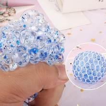 Piłka dekompresyjna wydechu umieścić balon Stress reliefer-opp kolor lepki worek fluorescencyjne wyrównanie piłki losowe L4R6