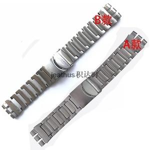 Image 2 - Jeathus 見本鋼ストラップのための時計バンドの交換 YOS440 441 439 455 456 固体ステンレス鋼ブレスレット 23 ミリメートルヨーヨー腕時計バンド