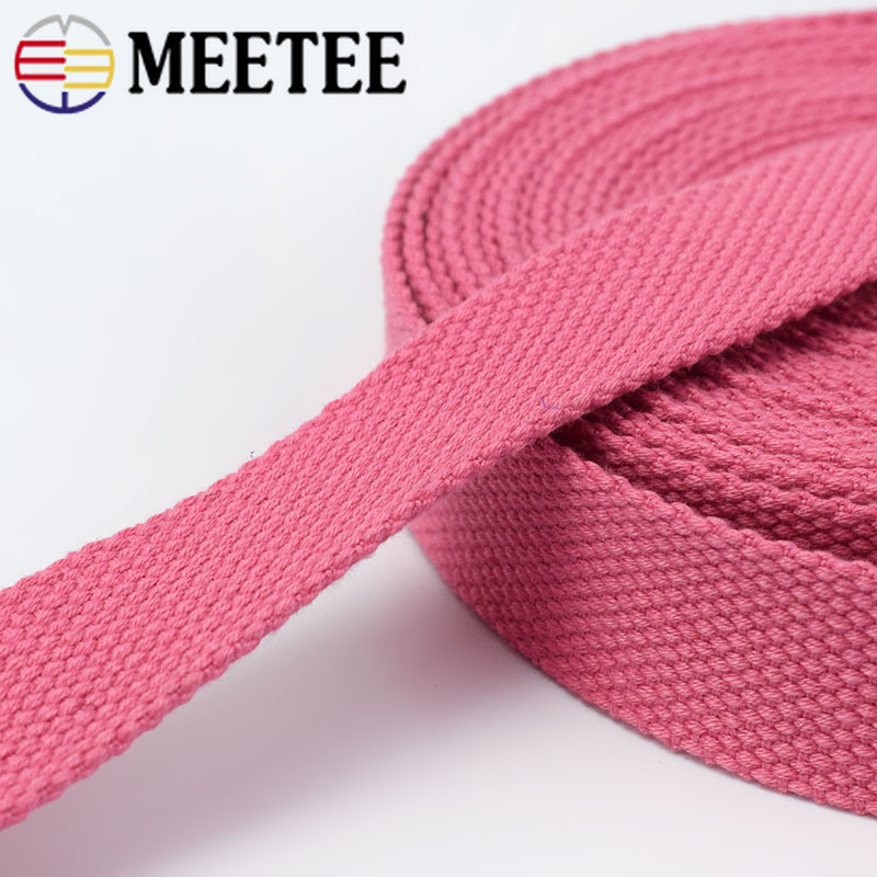 10Yard Meetee 32mm Thick 2mm Canvas Polyester Cotton Webbing Tape Bags Strap Collar DIY Sewing Garment Backpack Belt Accessory in Webbing from Home Garden