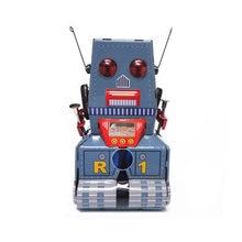 Tank Roboter Vintage Uhrwerk Wind Up Spielzeug Für Jungen Spielzeug Jungen Kinder Speelgoed Brinquedos Menino