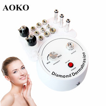 AOKO 3 in 1 Diamond Microdermabrasion Beauty Machine Vacuum Suction Tool Water Spray Facial Moisten Face Exfoliate Skin Peeling