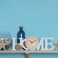 2019 New European And American Retro Home Wooden Vintage Decorative Clock Garden Decor