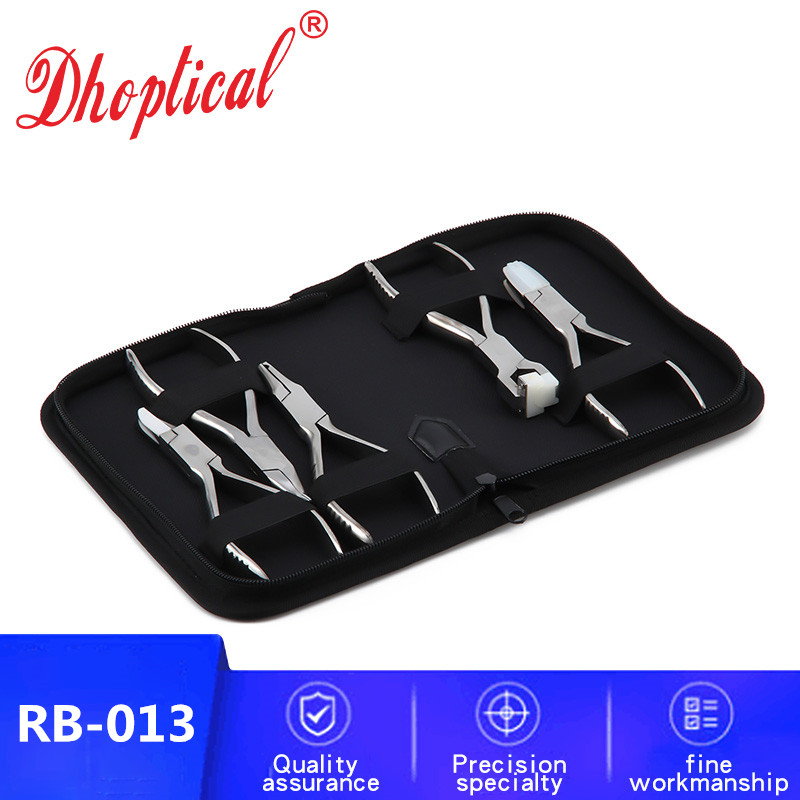 free shipping glasses plier set 5 pliers  eyewear repair tool adjust - Apparel Accessories
