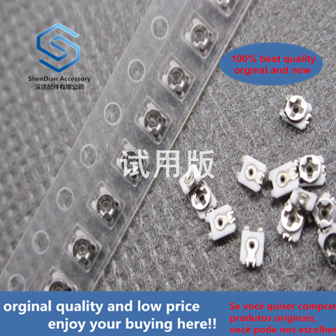 50pcs 100% Orginal New Adjustable Chip Resistor Trimmer Resistor TMC2K2J-B200K-TR Variable Potentiometer 2X2 200K