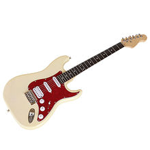Electric-Guitar Basswood 6-String Body Cream-Colored 39inch High-Gloss