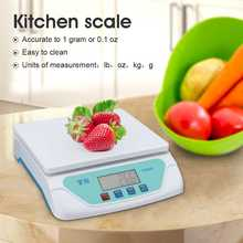 30kg LCD Display Electronic Scales Weighing Kitchen Scales Grams Balance  for Home Electronic Balance Weight