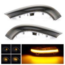 Luz LED intermitente lateral, faros indicadores para VW Passat B6, GOLF 5, Jetta, MK5, Passat B5.5, GTI V Sharan, 2 unidades