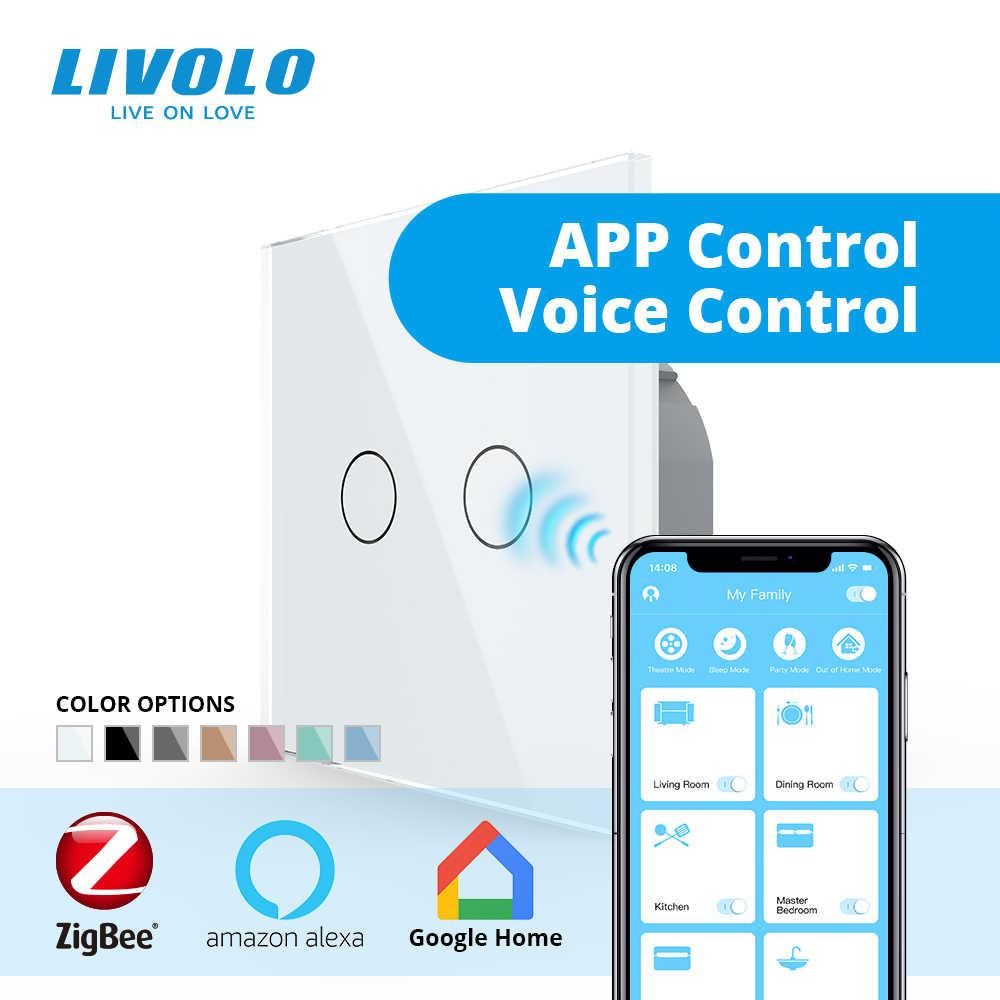Interruptor Tactil Sensor 1 Gang Interruptores Inalambricos Inteligente para Hogar Compatible con Android y la Aplicaci/ón iOS para Smart Home Teepao Interruptor WiFi