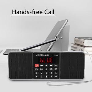 Image 2 - Stereo Auto Digital FM Radio Media Lautsprecher Mp3 Musik Player Unterstützung Speicher Karte USB Stick Mit Led bildschirm Display Timer funktion