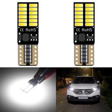 2x T10 CANBUS Car Parking 192 W5W LED Clearance Light For Skoda Octavia A5 A7 2 1 Rapid Fabia 1 2 Superb Yeti Spoiler Felicia RS