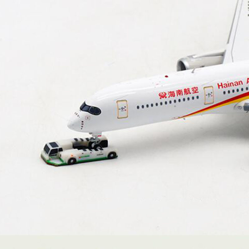 1:400 Scale Small Size Airplane Boeing Airbus Model Trailer Tow Truck for Aircraft Plane Scene Display Toy Model image