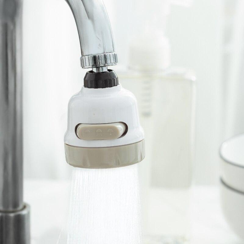 3 Режимы работы крана аэратор регулируемое эластичное кольцо водопроводной воды насадка для душа диффузор поворотный насадка Регулируемая...