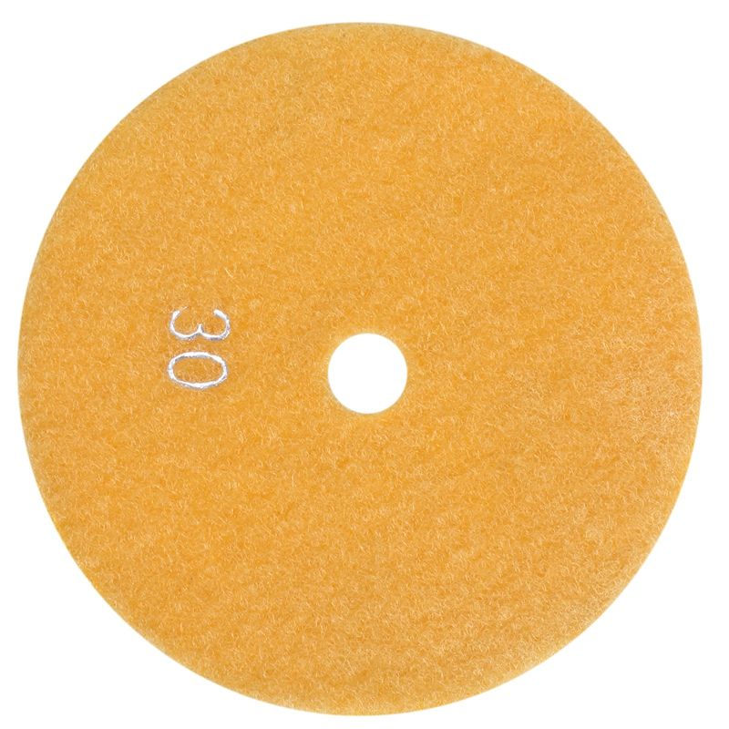 5 Inch 125mm Wet Diamond Polishing Pads Marble Granite Grits