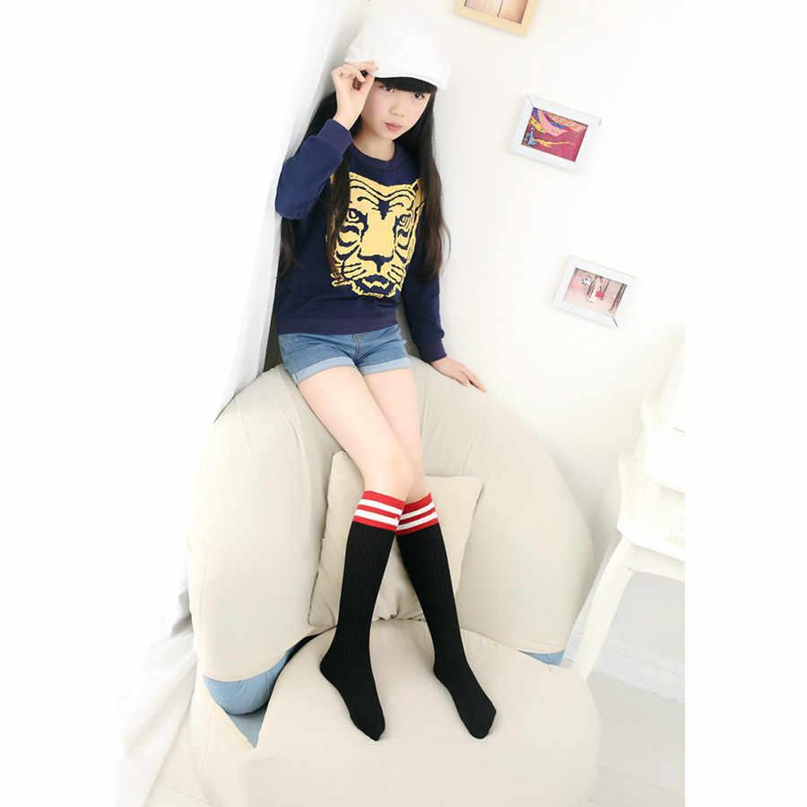 Corée du sud Enfants Chaussettes En Coton Chaussettes Princesse Filles Groupage Chaussettes Printemps Et Automne Double Aiguilles Semi-Bas
