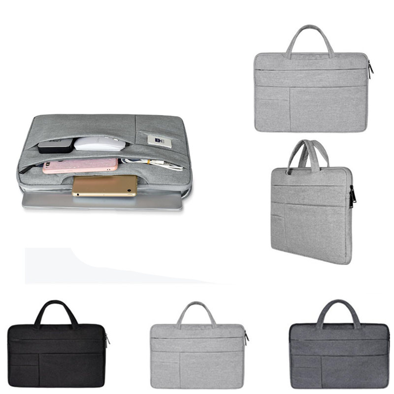 Men Women Portable Notebook Handbag 11 12 <font><b>13</b></font> 14 15.6 Laptop Bag Sleeve Case For Dell <font><b>HP</b></font> Xiaomi Surface pro <font><b>3</b></font> 4 5 6 GO Briefcase image