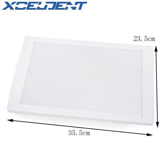 Dental Lab Tools X-Ray Film Illuminator Light Box Dentist Oral Hygiene Panorama Viewbox Xray Viewer Light Panel Screen A4