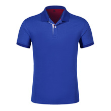 LiSENBAO New Fashion Men Polo Shirt Solid Color Slim Fit Cotton Casual Polos Mens SS-4XL Accpet Custom 1809