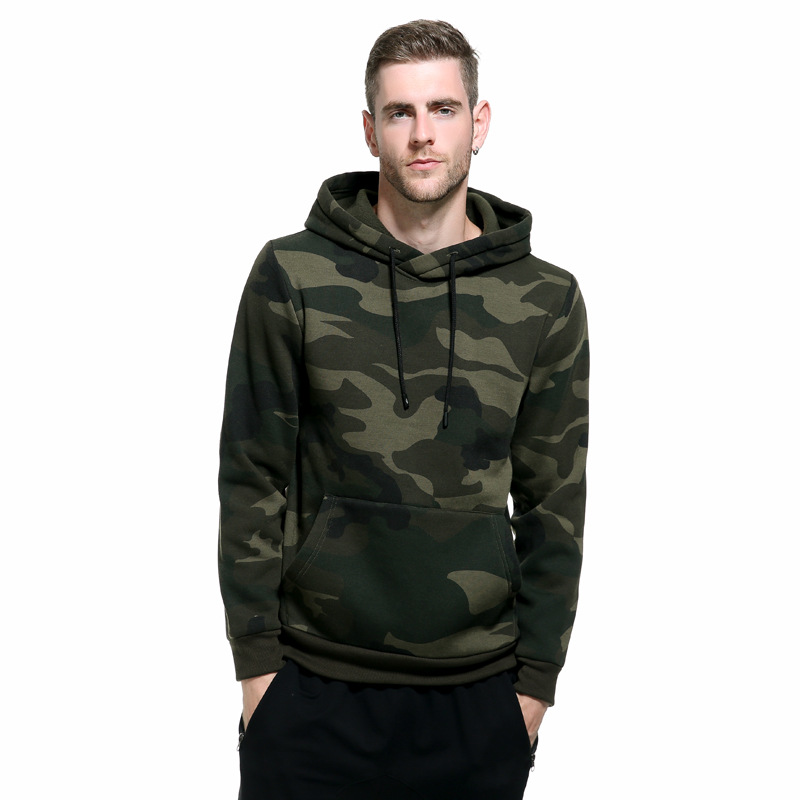 Camouflage Hoodies Men 2019 New Fashion Sweatshirt Male Camo Hoody Hip Autumn Winter Military Hoodie Mens Clothing US/EUR Size