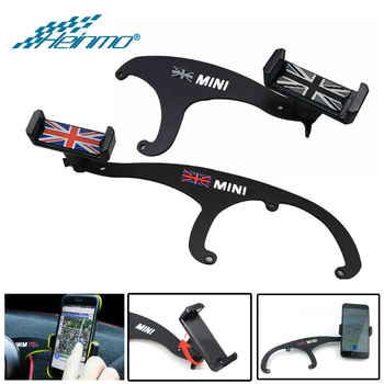 For MINI Cooper R56 R57 R55 R60 R61 GPS Stand Car Phone Holder For MINI Countryman Clubman F55 F60 F54 Accessories For MINI F56 3 1a display dual usb car charger universal mobile phone car charger for mini cooper countryman f54 f55 f60 r55 r56 r60 r61