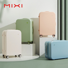 Mixi Puristic Design Travel Luggage Rolling Wheels Hardside Women Suitcase Men Trolley Case 16 20 Carry On/Big 22 24 26 28 Inch