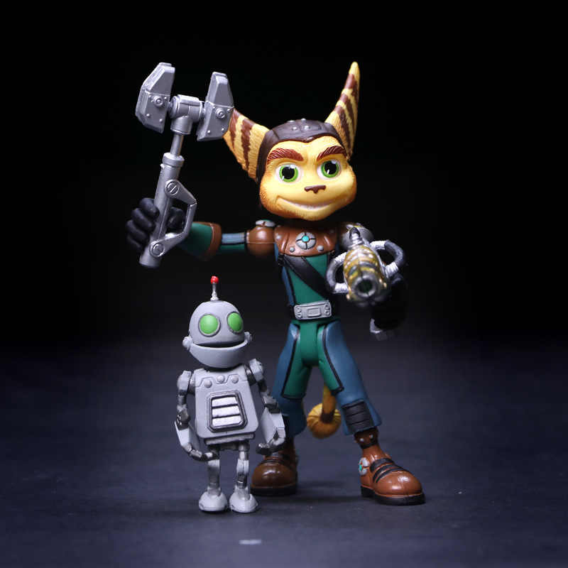 Funny Ratchet And Clank For Box Playstationcg Anime Action