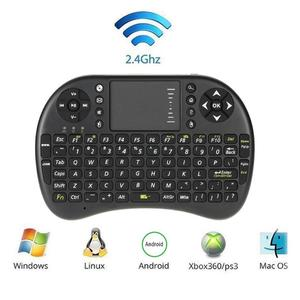 M2S Air Mouse inglés Mini Teclado retroiluminado inalámbrico remoto con Touchpad para HTPC Android TV Box Laptop PS3 Xbox360 Dropship