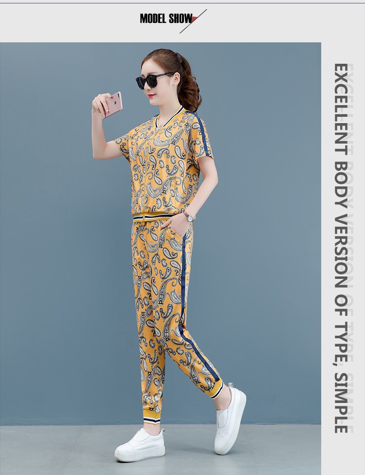 Top Pant Print Outfits 17