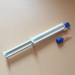 Image 4 - Zzgloss 10 pièces double baril seringue gel de blanchiment des dents, gel de blanchiment des dents professionnel avec activateur