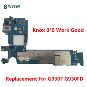 Image 4 - Sbloccato per Samsung Galaxy S7 G930F G930FD S7 Edge G935F G935FD scheda madre originale chip completi, versione europa rete 4G