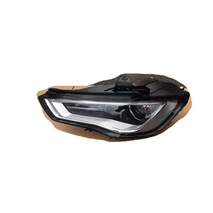 Image 5 - フロントヘッドライトヘッドライトガラスマスクランプカバー透明シェルランプマスクアウディ A3 2013 2016 レンズ